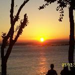Una puesta de sol increíble !!!