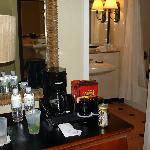 Bar Area in front of bathroom