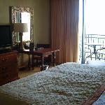 Bed Area looking toward balcony