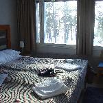 Zimmer mit Blick zum See