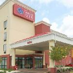 Outside View of Comfort Suites