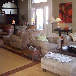 main sitting room at the Inn