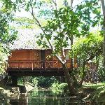 Our cottage over a canal
