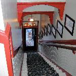 Stairway entrance.