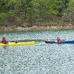 Kayaking Lake Murray