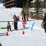 first timers ski school! so much fun!