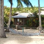Front view of beachfront bure #3