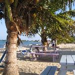 BareFoot Beach Bar View