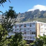 View of Table Mountain from bath