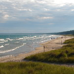 View of Lake Michigan at White Fish State Park