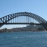 Sydney Bridge view on Harbour Cruise
