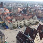 Wroclaw from Bird's Eye View