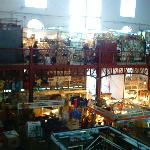 Mercado Hidalgo from the mezzanine