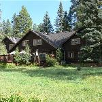 The main ranch building