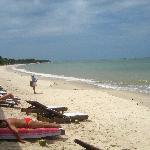 Playa Muta frente al hotel