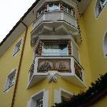 Hotel Adler - Facciata posteriore