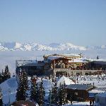 The restaurant at the top of Big Red Express on Whistler