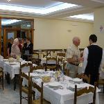 Dining Room Hotel Tiffany Fiuggi