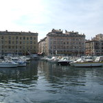 Leaving the Port of Marseille