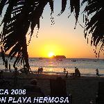 Sunset on Playa Hermosa