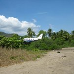 Tambor airport and beach