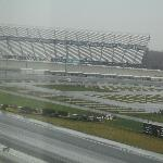 View from our Room of the Race track