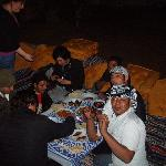 Egyptian dinner with every one
