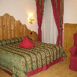 Bedroom at Jolanda Sport Hotel