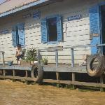 Floating school Tonle Sap lake