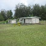airport terminal and wash room at Vanua Balavu