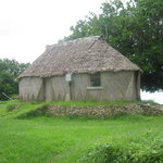 Traditional style bure hut