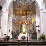 Inside one of the many churches.