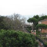 view from the window - top floor room