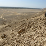 View from Tell El Amarna tomb site