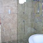 Huge shower...