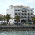View of the hotel.