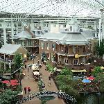 Gaylord Opryland Hotel---free if park next door to Opry Mills Mall