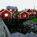 Beautiful Reine in Lofoten