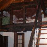 Escalera de la habitacion duplex Nafarroa