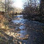 Looking Downstream (East) along the Fall River