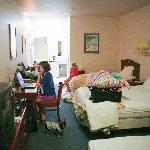 queen suite, sorry so messy, it was packing time.
