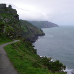 Coastal walk to Valley of Rocks