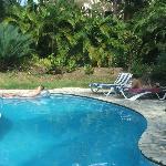 Villa 18 pool.....