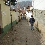 Caminando al centro de la ciudad