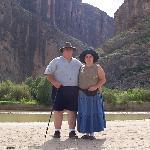 Us at the Santa Elena canyon
