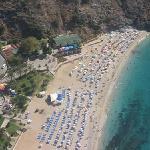 dalmatas beach 5 min from hotel