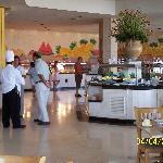 Restaurant para desayunos y cenas Buffet