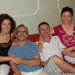 Familie Mauri, immer freundlich und hilfsbereit