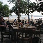 The restaurant on the beach