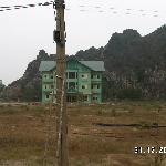 Inside the resort area, Kenh Ga Hot Spring, Ninh Binh, Vietnam